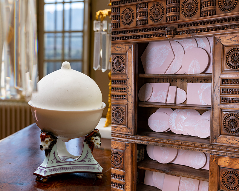 Ghislaine Portalis expo à L'hôtel de Tingry